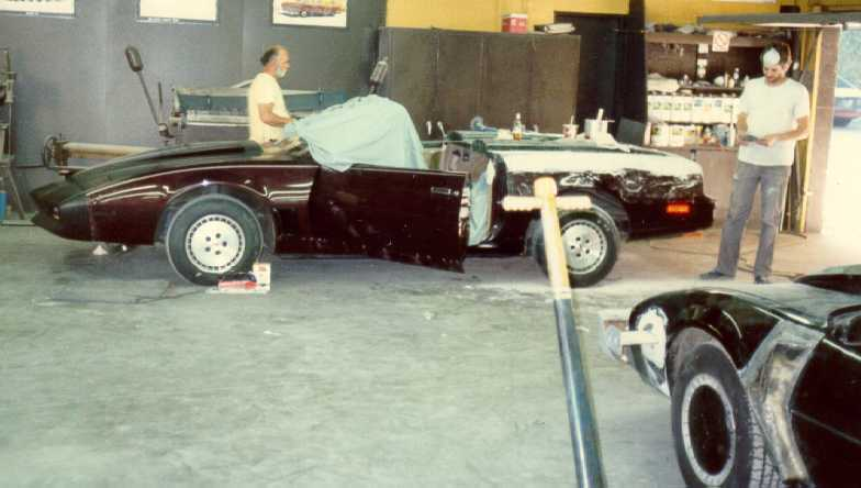 This Is The Convertible While It Was Being Made When Finally Painted Breathtaking Body Work Flawless On One